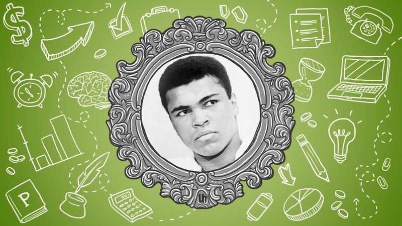 Illustration for article titled Muhammad Ali's Best Productivity Tricks