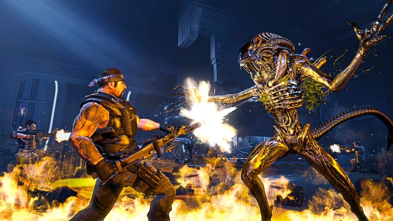 Illustration for article titled Aliens: Colonial Marines Multiplayer is Adrenaline-Pumpingly Good