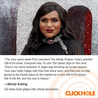 Illustration for article titled Mindy Kaling Said WHAT?!