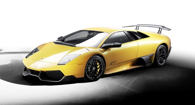 Illustration for article titled Lamborghini Murciélago LP 670-4 SV: First Picture