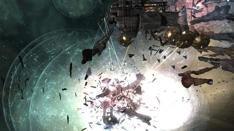 Illustration for article titled Gigantic Space Battle Breaks Out in EVE Online, Thanks to Unpaid Bill