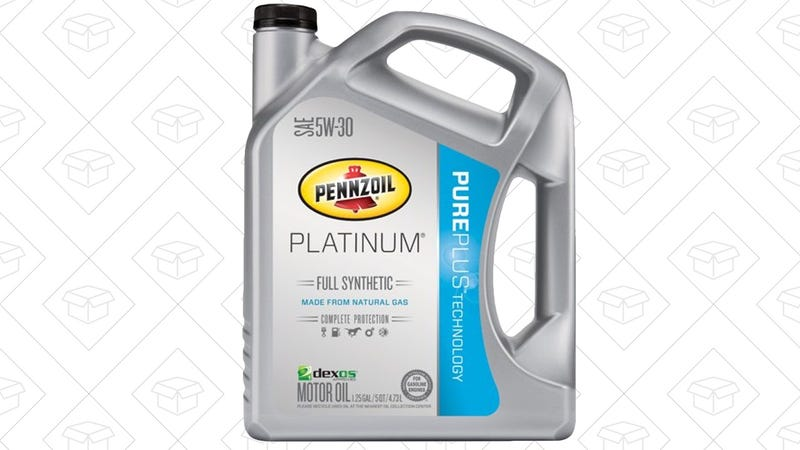 Penzoil 5 Quarts Synthetic Motor Oil (Multiple Weights), $9-$11 with Subscribe & Save and $10 online rebate.
