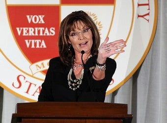 Illustration for article titled Palin Speaks Jibberish To Express Her Xenophobia