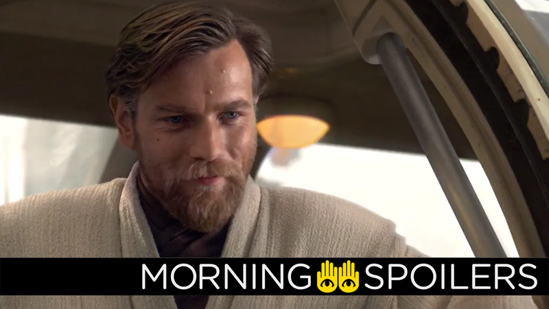 Obi-Wan could bump into a peculiarly familiar face in his TV show.