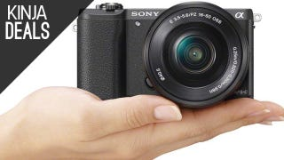 Illustration for article titled Amazon Has the First Deal We've Seen on Sony's A5100 Mirrorless Camera