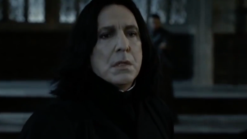 Illustration for article titled Turns Out Alan Rickman Didn't Totally Love Playing Professor Snape