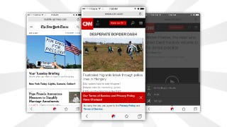 Illustration for article titled Adblock Browser Arrives on iOS to Block Ads on the Go