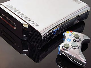 Illustration for article titled XCM Chrome Xbox 360, From Drab to Fab(ricated)