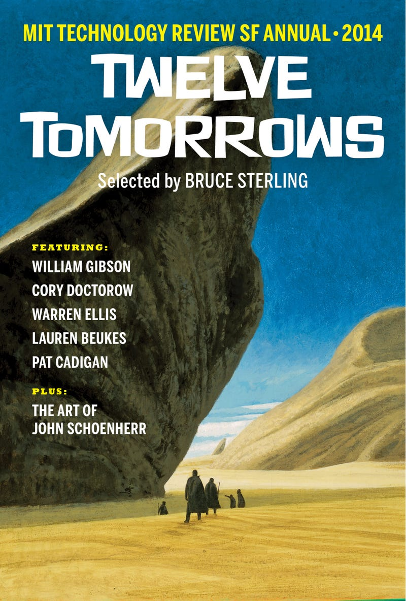 Illustration for article titled MIT Technology Review's TWELVE TOMORROWS is packed with scifi goodness