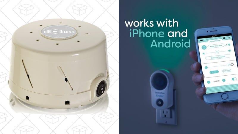 Marpac Dohm-DS White Noise Machine | $40 | AmazonLectroFan Kinder | $68 | Amazon | Promo code 15OffKinder