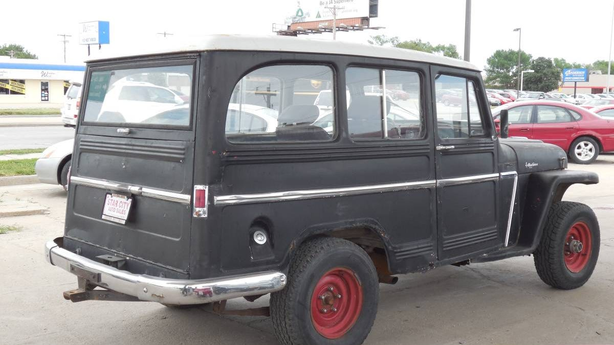 For $3,500, Would You Buy Jim's 1962 Willys Jeep Station Wagon?