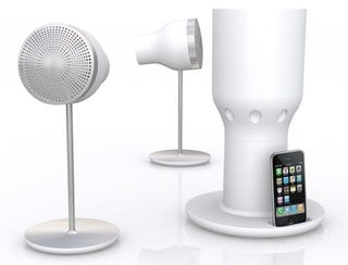 Illustration for article titled EOps i24R3 Wireless Gesture-Control iPhone Speaker is Quite Beautiful, Actually