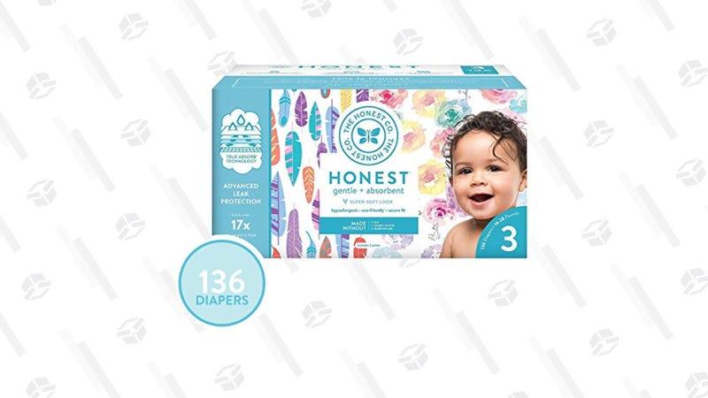 The Honest Company Super Club Box, 136 Count | $40 | Amazon