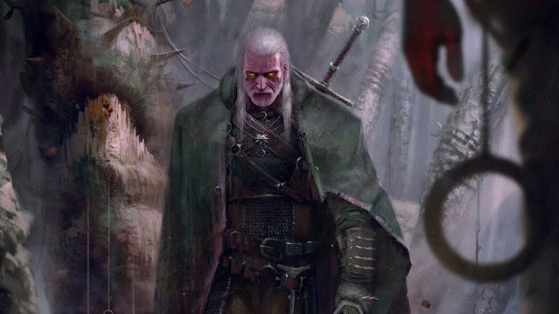 Illustration for article titled Just Witcher Stuff