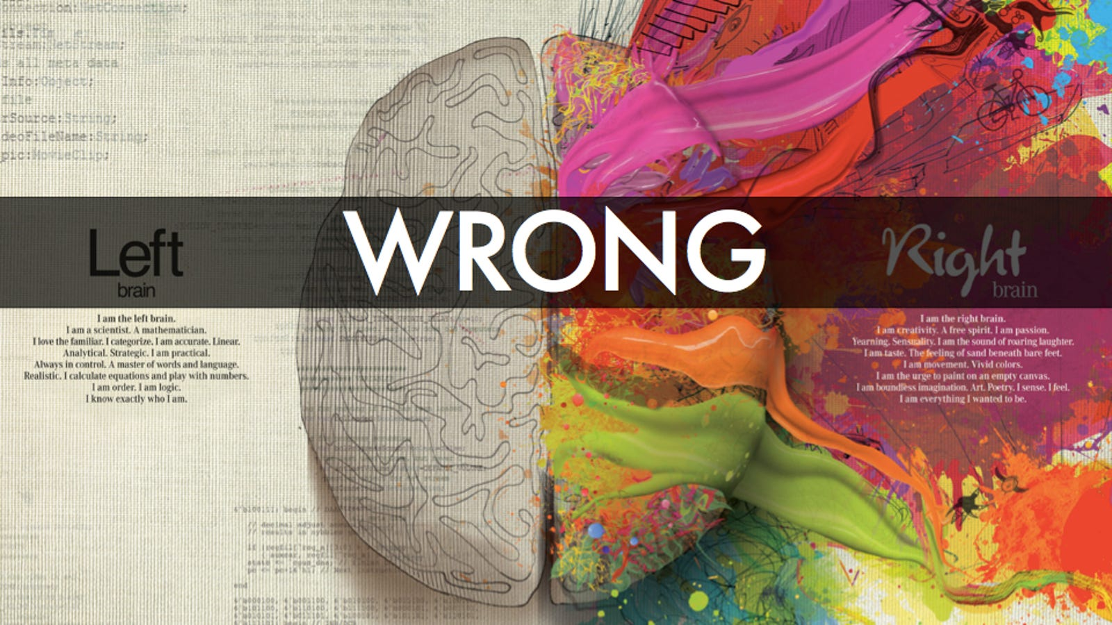 Why The Left Brain Right Brain Myth Will Probably Never Die