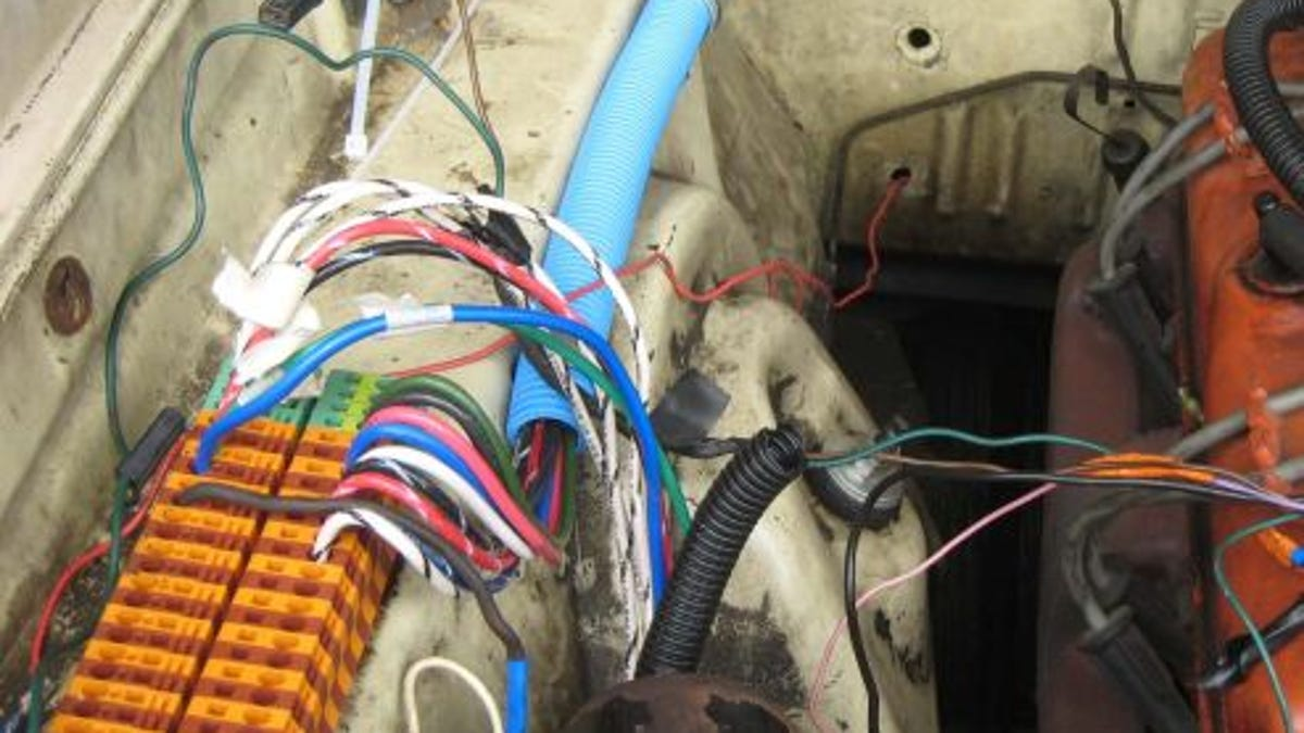 Din Rail And Smurf Tube How To Wire Your Race Car On The Cheap Auto Wiring Blocks