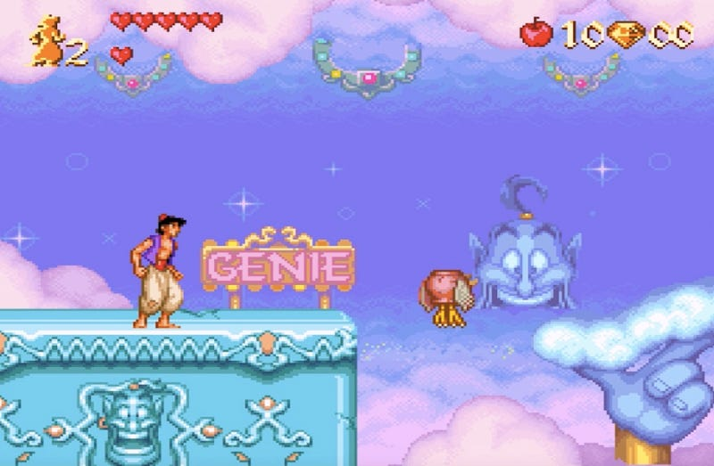 Illustration for article titled The Genie Level In Aladdin Is Unadulterated Disney Magic