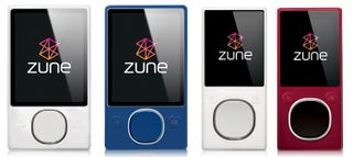 Illustration for article titled New Zune Colors Revealed in 3.0 Software