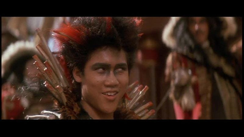 Illustration for article titled Hook prequel centered on Rufio is in the works, according to the guy who played Rufio