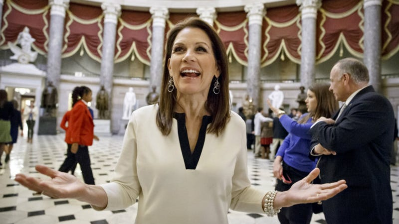 Illustration for article titled We Have to Admit that Michele Bachmann Has Some Very Legit and Free-Spirited Dance Moves