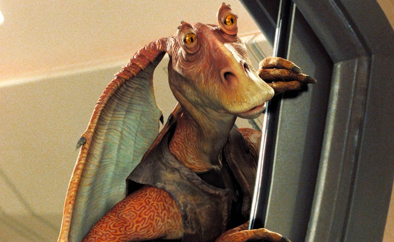 Illustration for article titled Una nueva novela revela el trágico destino del personaje más odiado de todo Star Wars: Jar Jar Binks