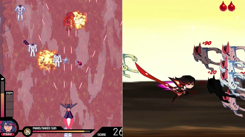 Illustration for article titled These Two Kill la Kill Fan Games Couldn't Fill the Void in My Heart