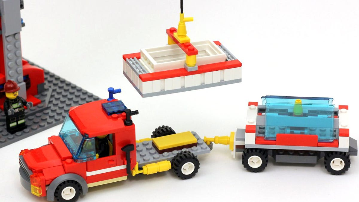 Turn Your Lego Fire House Into A Construction Site