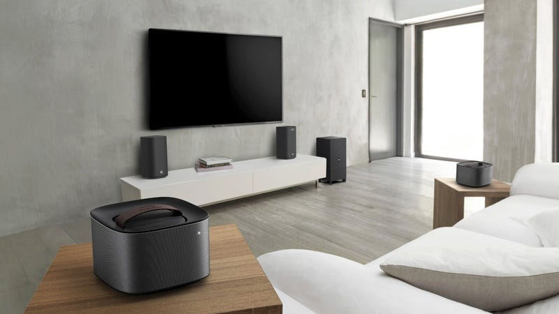 Illustration for article titled Listen to Audio All Over Your House With Philips' New Modular Surround Sound System