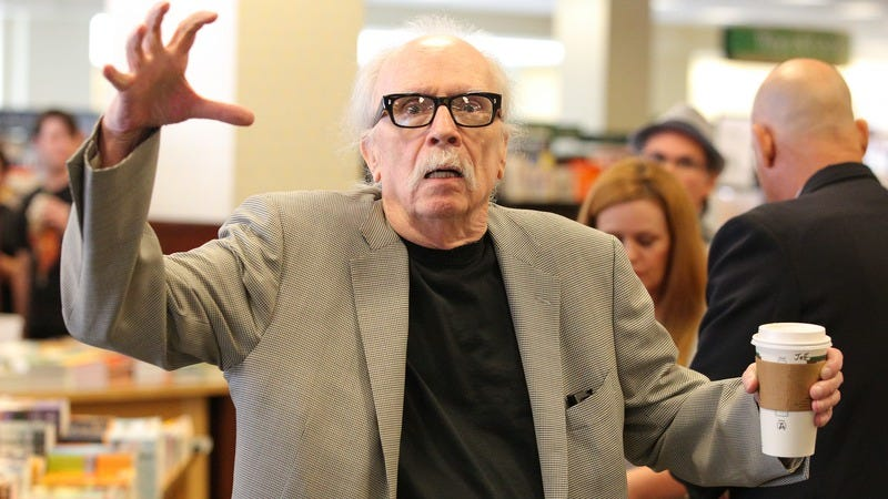 John Carpenter at a Los Angeles Barnes & Noble in 2015. (Photo: Imeh Akpanudosen / Getty Images)