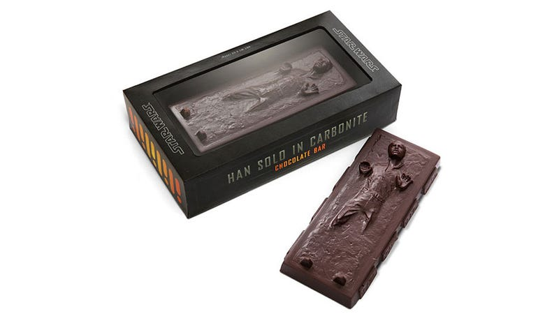 Illustration for article titled This Carbonite-Frozen Han Solo Is the Only Chocolate I Want This Holiday Season