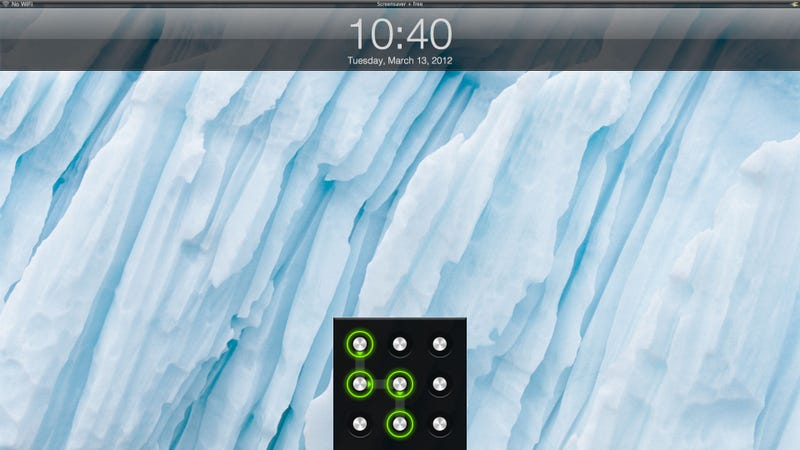 Illustration for article titled Screensaver+ Adds an iOS-like Lock Screen to Your Mac