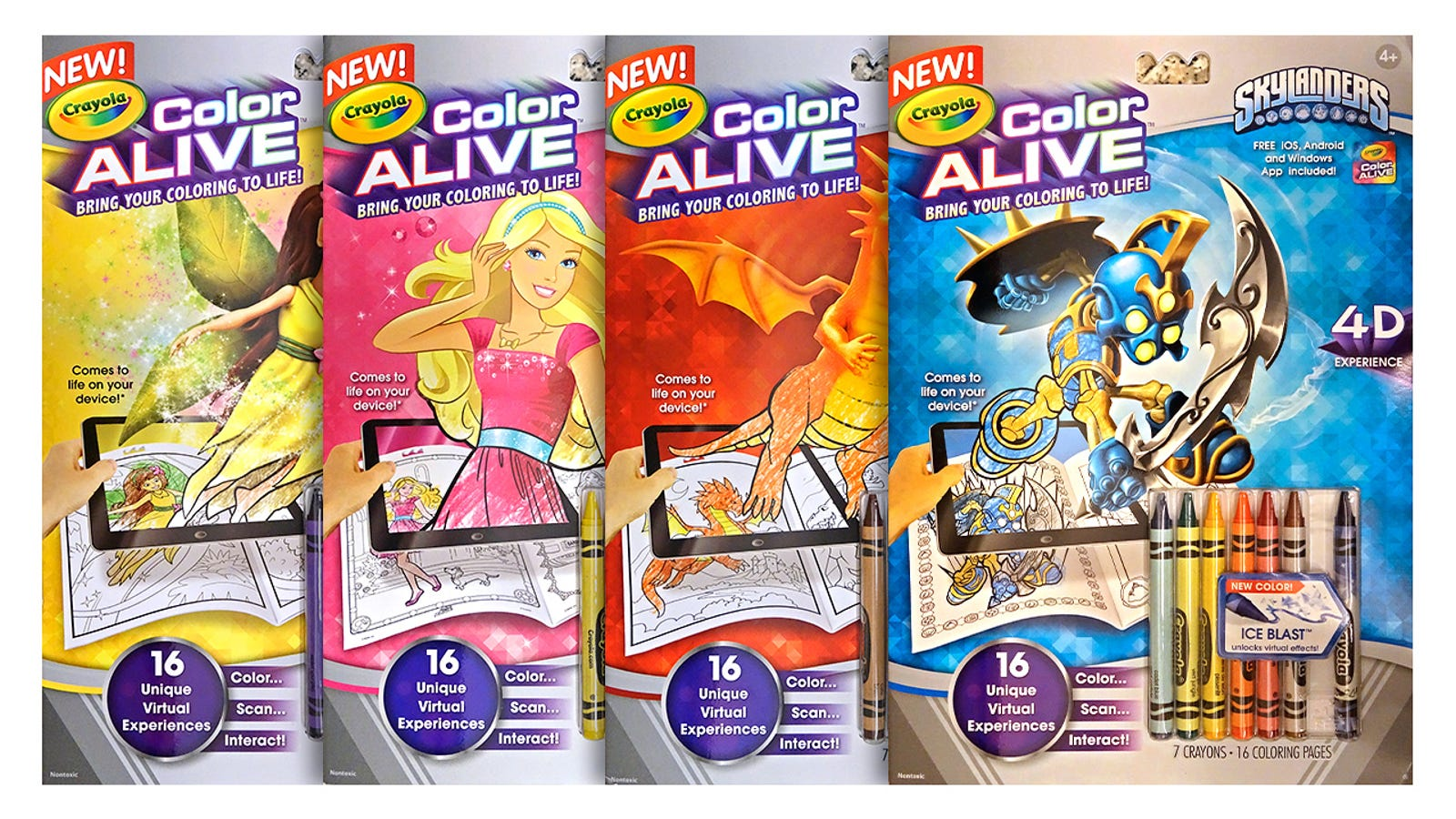Crayola 39 s New Coloring Books Bring
