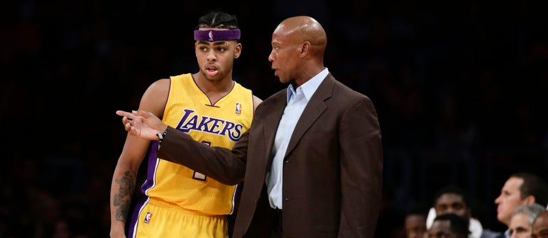 Illustration for article titled Byron Scott Is Still Saying Baffling Things About D'Angelo Russell