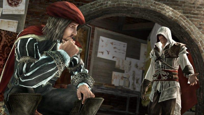 Illustration for article titled Multiple Film Projects Might Move Leonardo Da Vinci From Assassin's Creed Sidekick to Superhero Spotlight