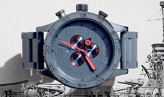 Illustration for article titled Clumsy Watch-Wearers Rejoice Over Nixon's Gunship Watches