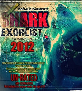 Illustration for article titled Shark Exorcist is a movie with something for everyone