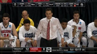 Illustration for article titled Arizona's Sean Miller Sweated Through Your TV