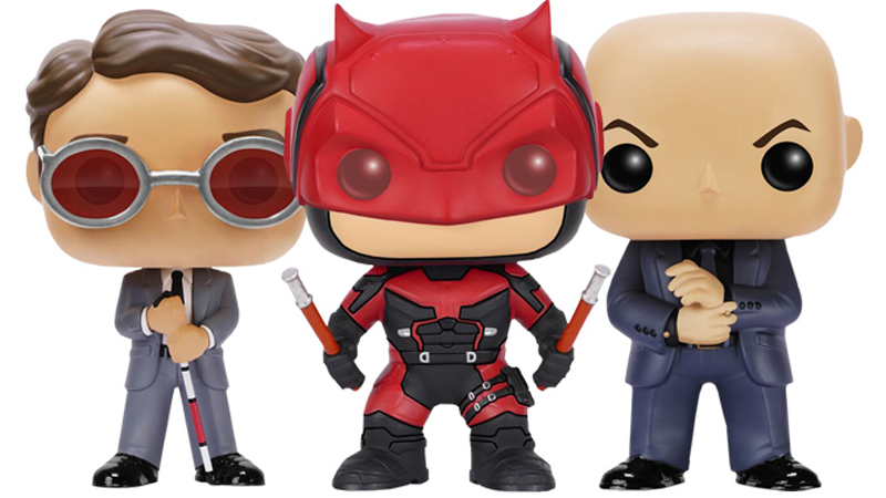 Illustration for article titled The First Daredevil TV Series Merchandise Is a Line of Cutesy Pop Vinyls