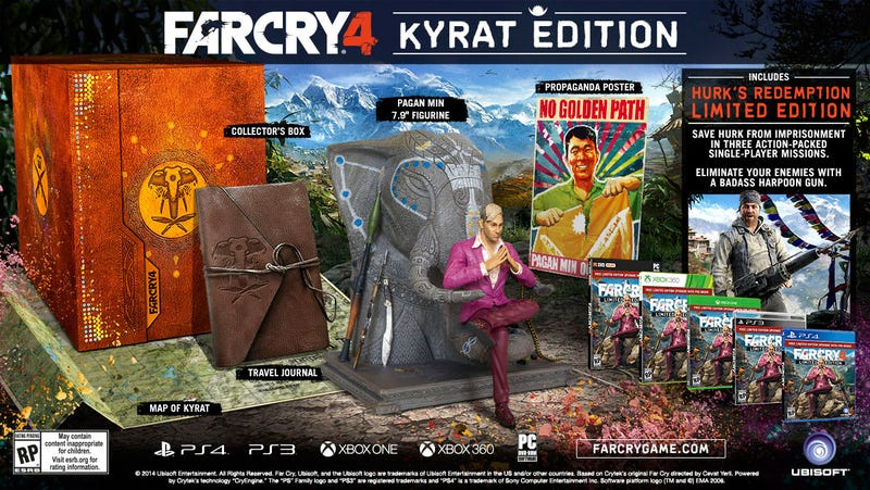 Illustration for article titled Far Cry 4 Limited Edition Statue