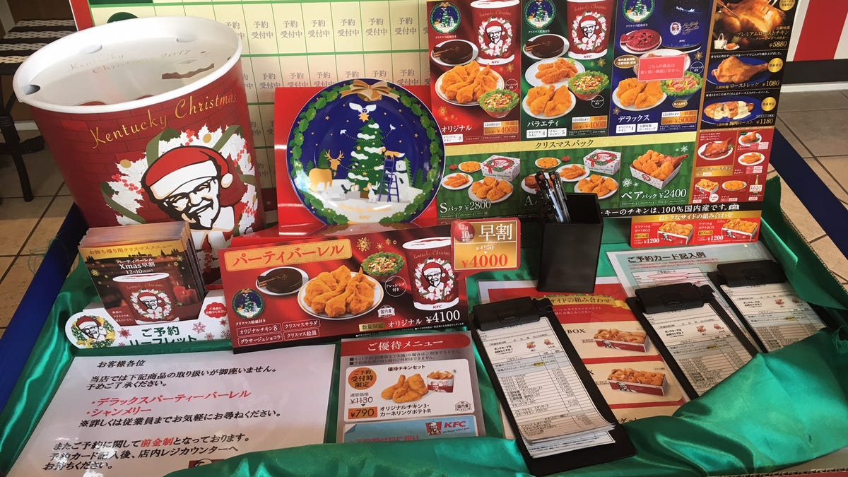 Why KFC Is Christmas Dinner In Japan