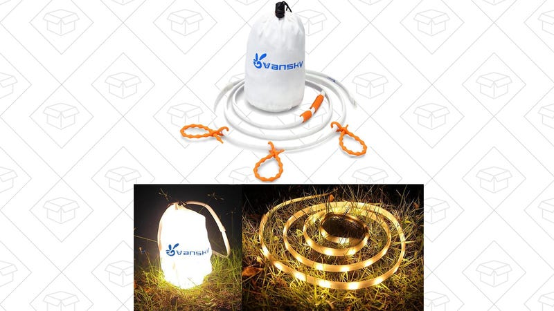 Vansky LED Rope Lights, $11 with code 528EEW30