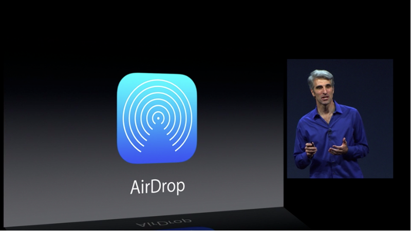 Illustration for article titled AirDrop Is Now Baked Into iOS 7