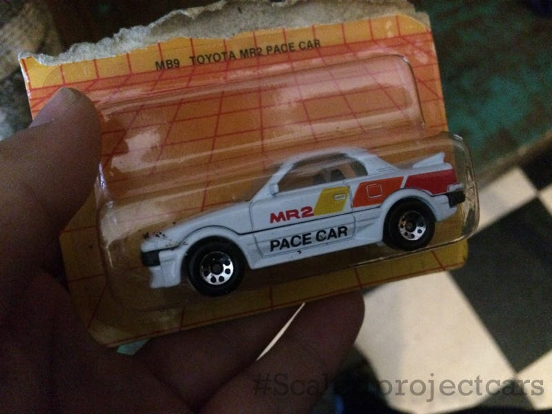Illustration for article titled AW11 MR2 Pace car with Classic TRD livery