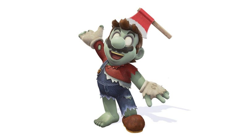 Illustration for article titled Mario Is Dressing Up As Luigi For Halloween