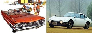 Illustration for article titled Biggest Disappointment For Car Lovers In Recent Decades: GM or Toyota?
