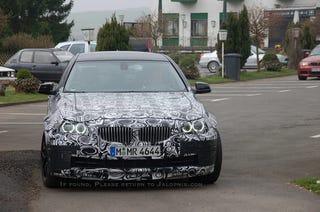 Illustration for article titled 2012 BMW M5: Spy Photos
