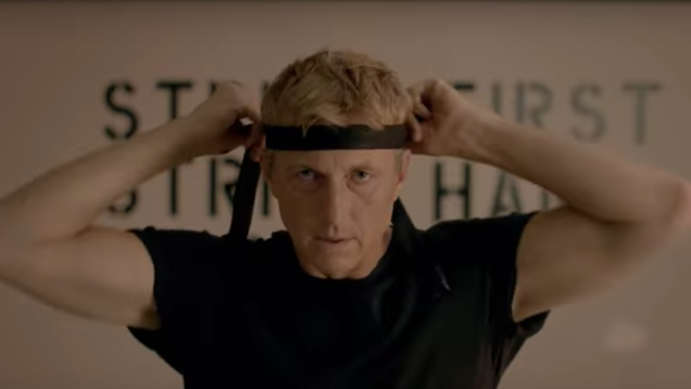 We'd tell you who's joining the cast of Cobra Kai, but there are no spoilers in this dojo