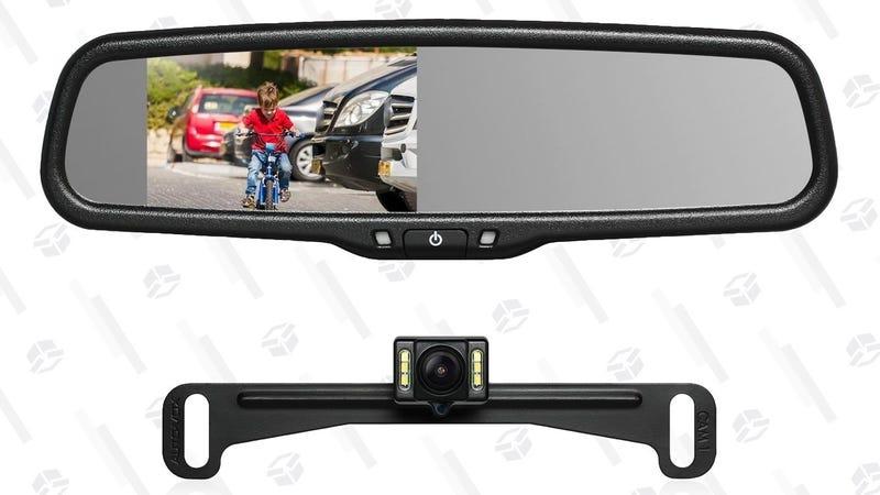 Cámara de visión trasera Auto-Vox   $98   Amazon   Usa el código WO4YR2QEGráfico: Shep McAllister