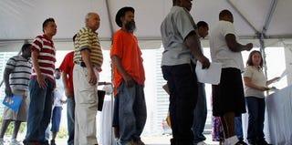 Jobs fair (Getty Images)