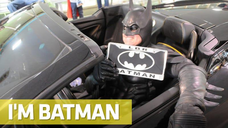 Illustration for article titled 'Lamborghini Batman' Unmasked